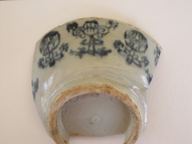 Shard of a Chinese ceramic bowl